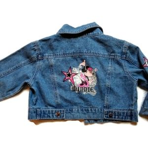 Disney Girls Minnie Mouse Denim Jacket 14/16